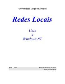 Redes Locais - Unix vs Winodws NT