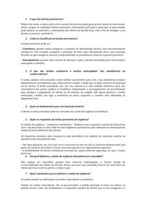 8. PERGUNTAS   TUTELAS PROVISORIAS   TD