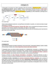 Citoesqueleto - Junqueira e Carneiro