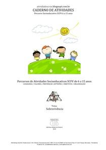 CADERNO DE ATIVIDADES - Percurso Socioeductivo SCFV de 6 a 15 anos 11-09 - Sobrevivência