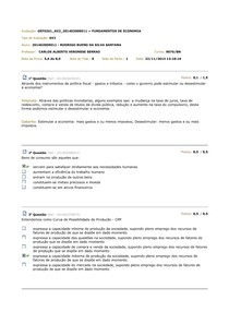 Av2- Fundamentos de economia - Unidas