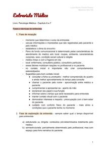 Entrevista - Relação Médico Paciente