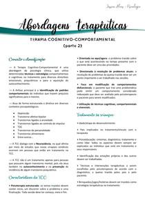 Terapia Cognitivo-Comportamental (part 2)