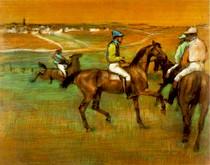 Edgar Degas - Race Horses