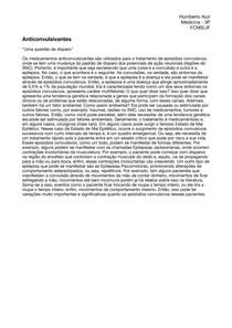 Aula 9 - Farmacologia Anticonvulsivantes