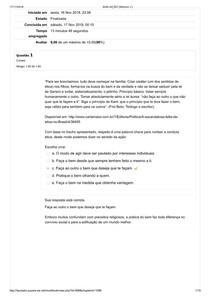 Atualidades e Temas Emergentes  Avaliação   Módulo 1º exercicos
