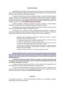 Exercício - AGRAVO INTERNO - PREQUESTIONAMENTO