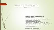 Solidariedade Mecânica e Orgânica-Emile Durkheim - Sociologia