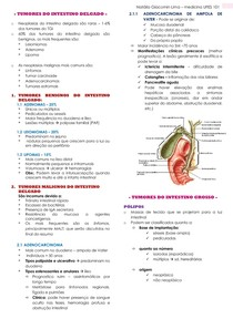 TUMORES DO INTESTINO