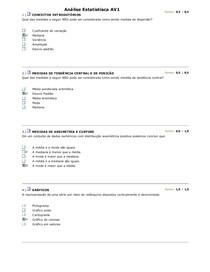 Análise Estatistisca av1