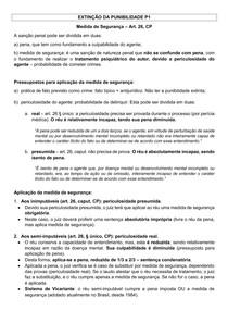 EXTINÇÃO DA PUNIBILIDADE NP1