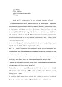 Estadiamento do Linfoma - TICS