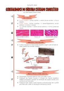 [04 04 2020] Generalidades do Músculo Estriado Esquelético