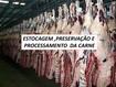 refrigeração, congelamento de carnes e cura 2015