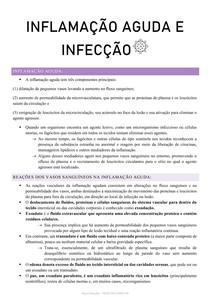 inflamação aguda e infecção