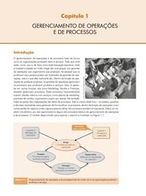 CAP. 01 GERENCIAMENTO DE OPERAÇÕES E DE PROCESSOS