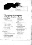 O Estudo da Personalidade - Avaliação, Pesquisa e Teoria (CAP. 1)