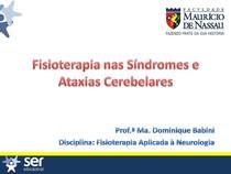 Fisioterapia nas S ndromes Cerebelares e Ataxia