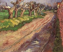 Vincent Willem van Gogh-Pollard-Willows