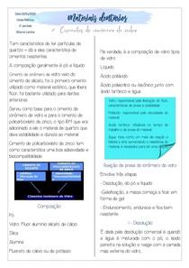 OK - RESUMO DE IONOMERO DE VIDRO PDF