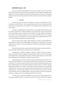 Mecanismos de Regulação Gênica