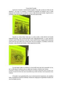 Exame de Imagem de Tireoide
