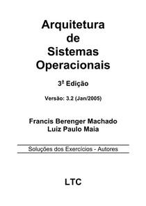 Arquitetura de Sistemas Operacionais   Francis Berenger Machado   respostas