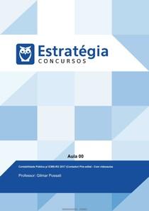 Curso Contabilidade Publica - Estrategia