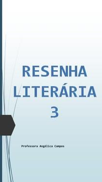 Resenha Literária 3