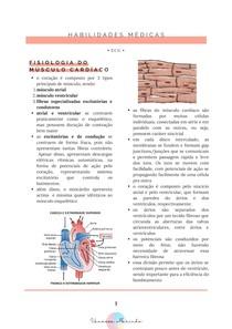 FISIOLOGIA DO CORAÇÃO E ELETROCARDIOGRAMA