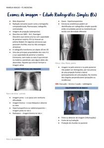 Estudo Radiográfico Simples (Rx)