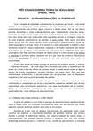 FREUD - Ensaio III - As Transformações da Puberdade (1905)