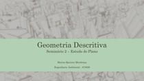 Seminário 2 - Estudo do Plano - Geometria Descritiva