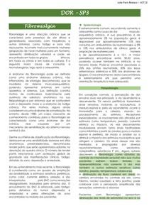 FIBROMIALGIA; SINDROME DOLOROSA REGIONAL; DOR MIOFASCIAL; MEDICAMENTOS