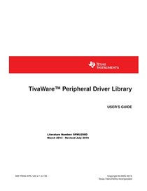 TivaWare Peripheral Driver Library - Eletrônica Digital - 32