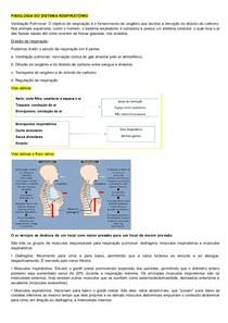 Resumo Fisio Respiratoria AV1