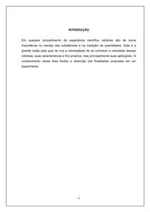 Relatório Prática I - Reconhecimento de vidrarias e medidas de volume