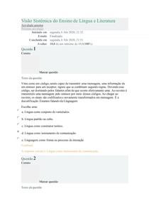 Visão Sistêmica do Ensino de Língua e Literatura 2