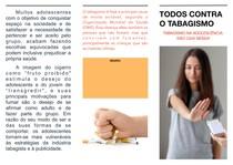 FOLDER TABAGISMO NA ADOLESCÊNCIA