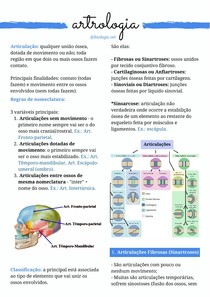 Anatomia Animal - Artrologia