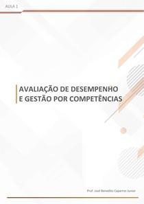 Avaliação por competência- aula 01