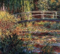 Water Lily Pond Symphony In Rose-Claude Monet