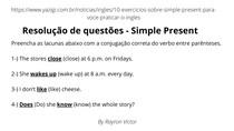 Questões de Inglês