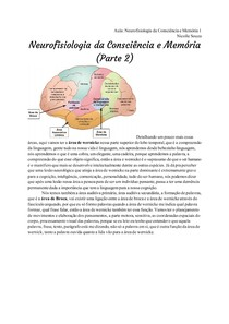 Transcrição_ Neurofisiologia da Consciência e Memória 1