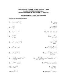 Lista 08-CI-2013