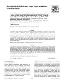 Dinâmica do corpo rígido - Experimentação - Bogos_Nubar