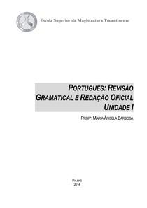 Novo Acordo Ortográfico SESI PR - PORTUGUÊS REVISÃO GRAMATICAL E REDAÇÃO OFICIAL