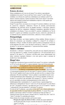PNEUMOCONIOSES PARTE 1 : Asbestose