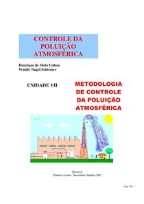 Controle da Poluição Atmosférica Cap 7 Metodologia de Controle da Poluição Atmosférica