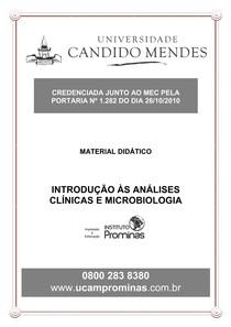 introdução as analises clinicas e biologicas